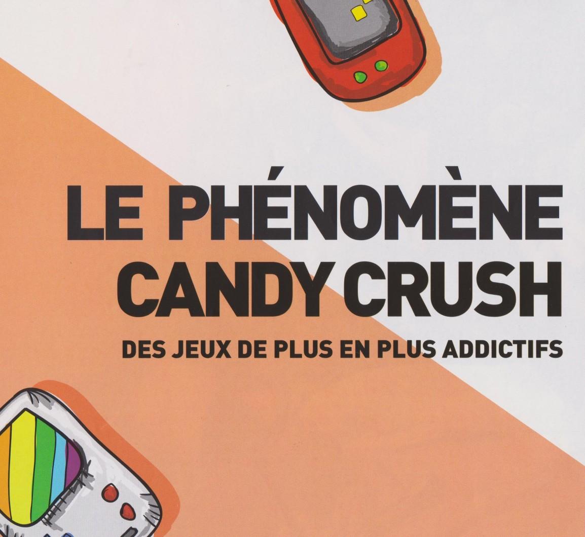 Le phénomène «Candy Crush», des jeux de plus en plusaddictifs
